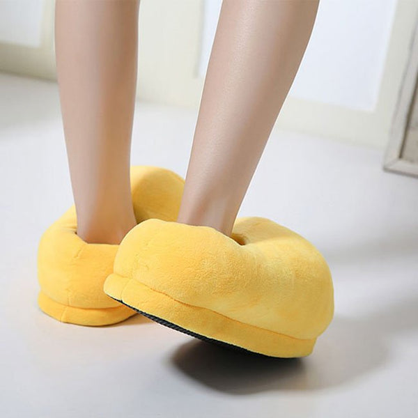 Ultra Soft Plush Slippers - Global Planet