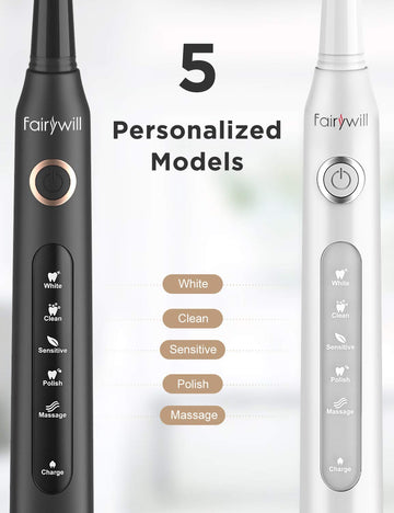 Rechargeable Whitening Sonic Toothbrush