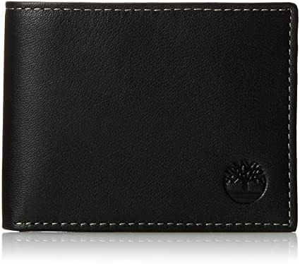 Timberland Men's Blix Slimfold Leather Wallet - Global Planet