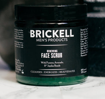 Men's Renewing Face Scrub for Men