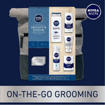 NIVEA Men Dapper Duffel Gift Set - 5 Piece Collection Of On-The-Go Grooming Needs with Travel Bag Included - Global Planet