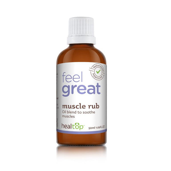 Muscle Rub - All Natural Oil Blend for Muscle Care - Global Planet