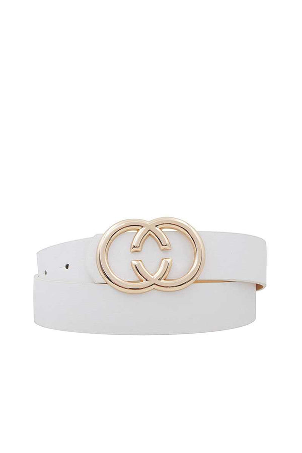 Fashion Double Ring Buckle Belt - Global Planet