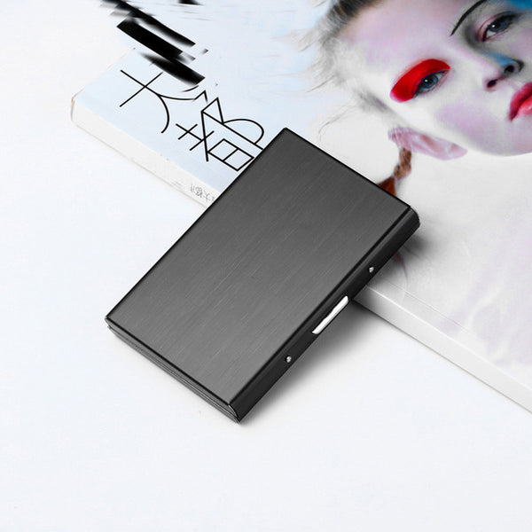Fashion women men credit card holder Stainless - Global Planet