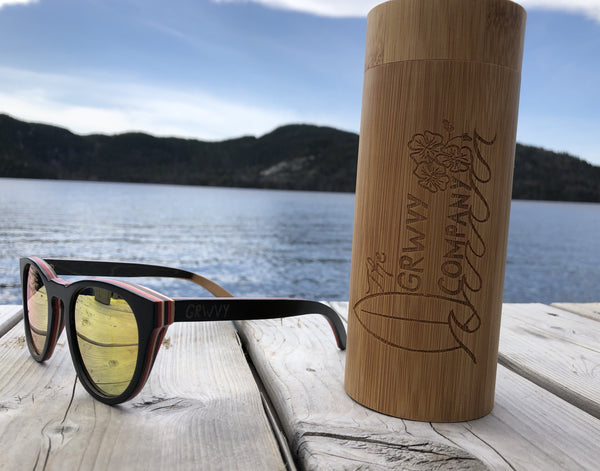 Sunglasses Real Bamboo - Global Planet