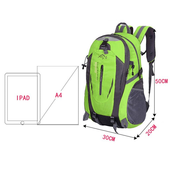 Outdoor Hiking Sports backpack men and women - Global Planet
