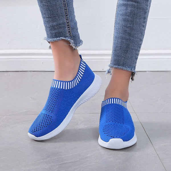 Women Air Mesh Sneakers Women Knitted - Global Planet