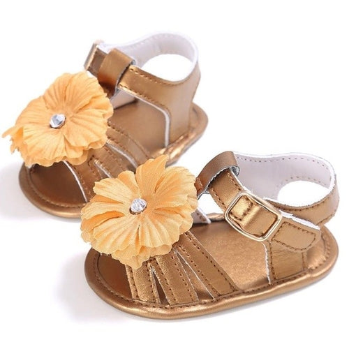Solid colors 4 Soft Sole PU Leather Baby Girls - Global Planet