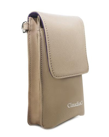Ibag Leather Cross Body -Tan