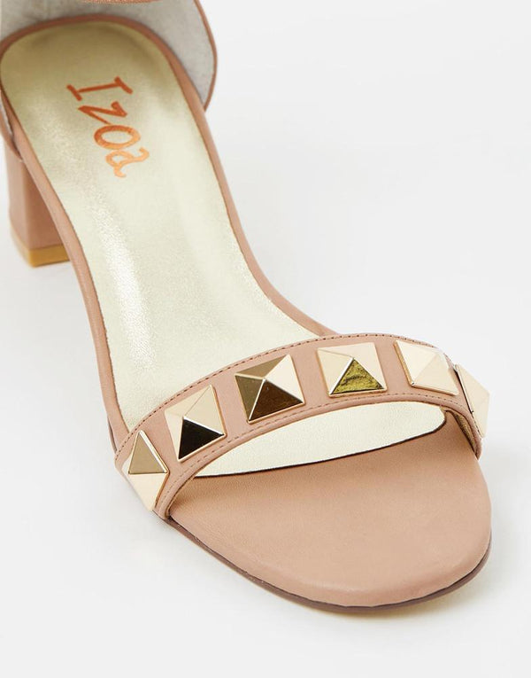 Izoa Majorca Sandals Taupe (SIZE 37 ONLY) - Global Planet