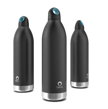 Bevu® Insulated Bottle Black