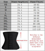 Women Latex Waist Trainer - Global Planet