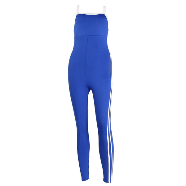 Jumpsuit Women Sport Suit Female Set Sexy - Global Planet