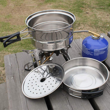 Outdoor Cookware Cooking Set