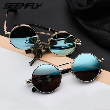 Retro Steampunk Sunglasses Unisex