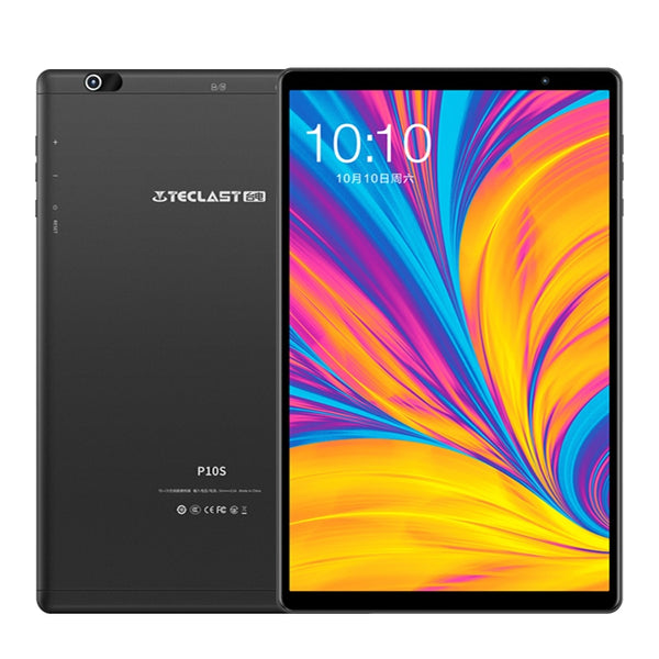 Teclast P10S 4G Phone Call Tablets Octa Core 10.1 inch IPS 1200*800 3GB RAM 32GB ROM GPS Type-C Android 9.0 6000mAh tablet PC - Global Planet
