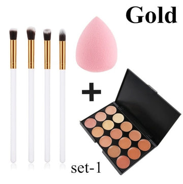 Women's MakeUp Brushes Kit