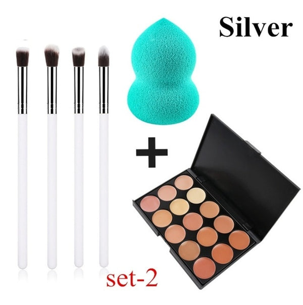 Women's MakeUp Brushes Kit - Global Planet