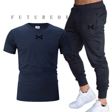 Men's 100% cotton casual sports