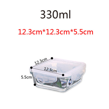 Portable Food Storage Container, BPA-free Lunch Box