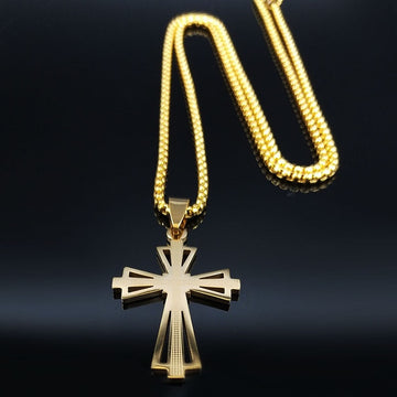 Cross Necklace for Men's