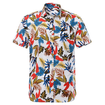 Printed Short Sleeve Pure Cotton