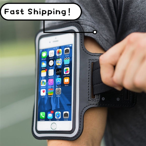 Universal Outdoor Sports Phone Holder Armband Case for Samsung Gym Running Phone Bag Arm Band Case for iPhone xs max for Samsung - Global Planet