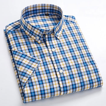 Men Cotton Slim Fit Shirts