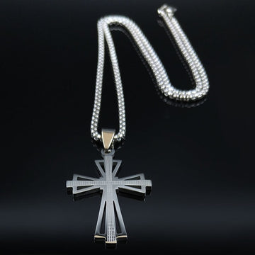 Cross Stainless Steel Necklaces Pendants