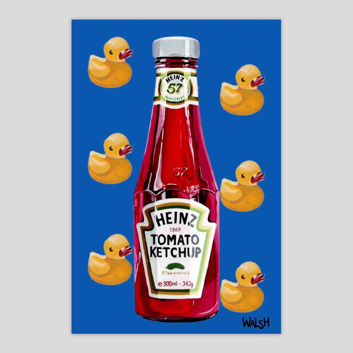 Rubber Duckie Ketchup