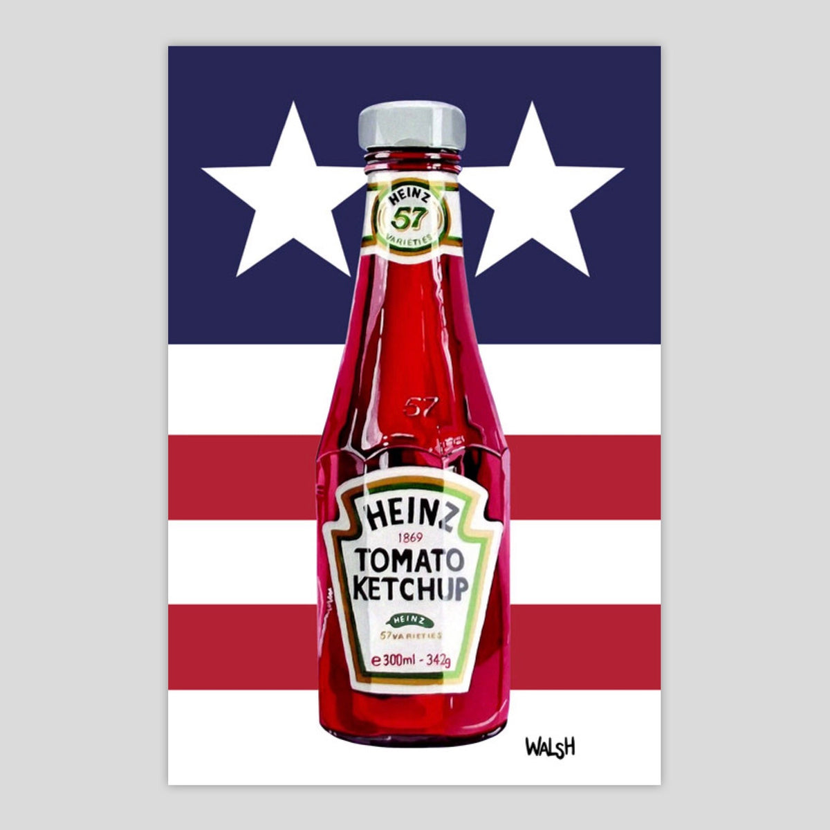 Stars and Stripes Ketchup