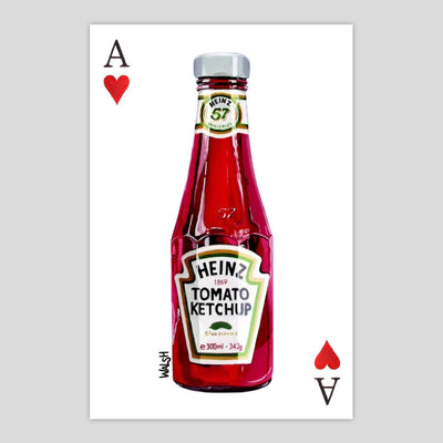 Ace of Hearts Ketchup