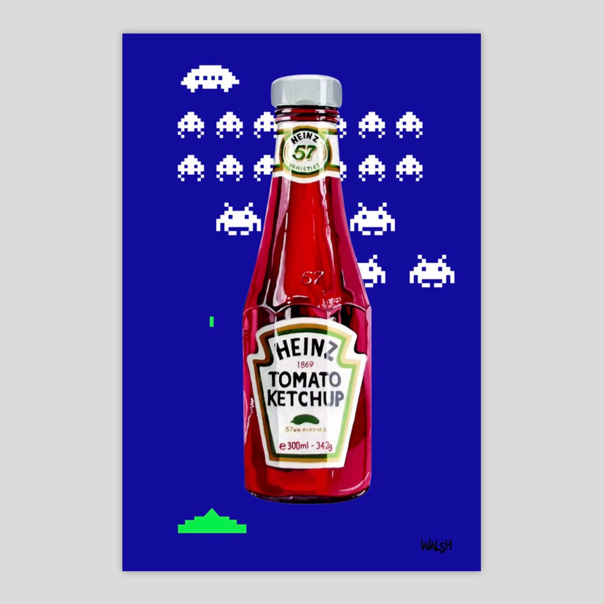 Space Invaders Ketchup