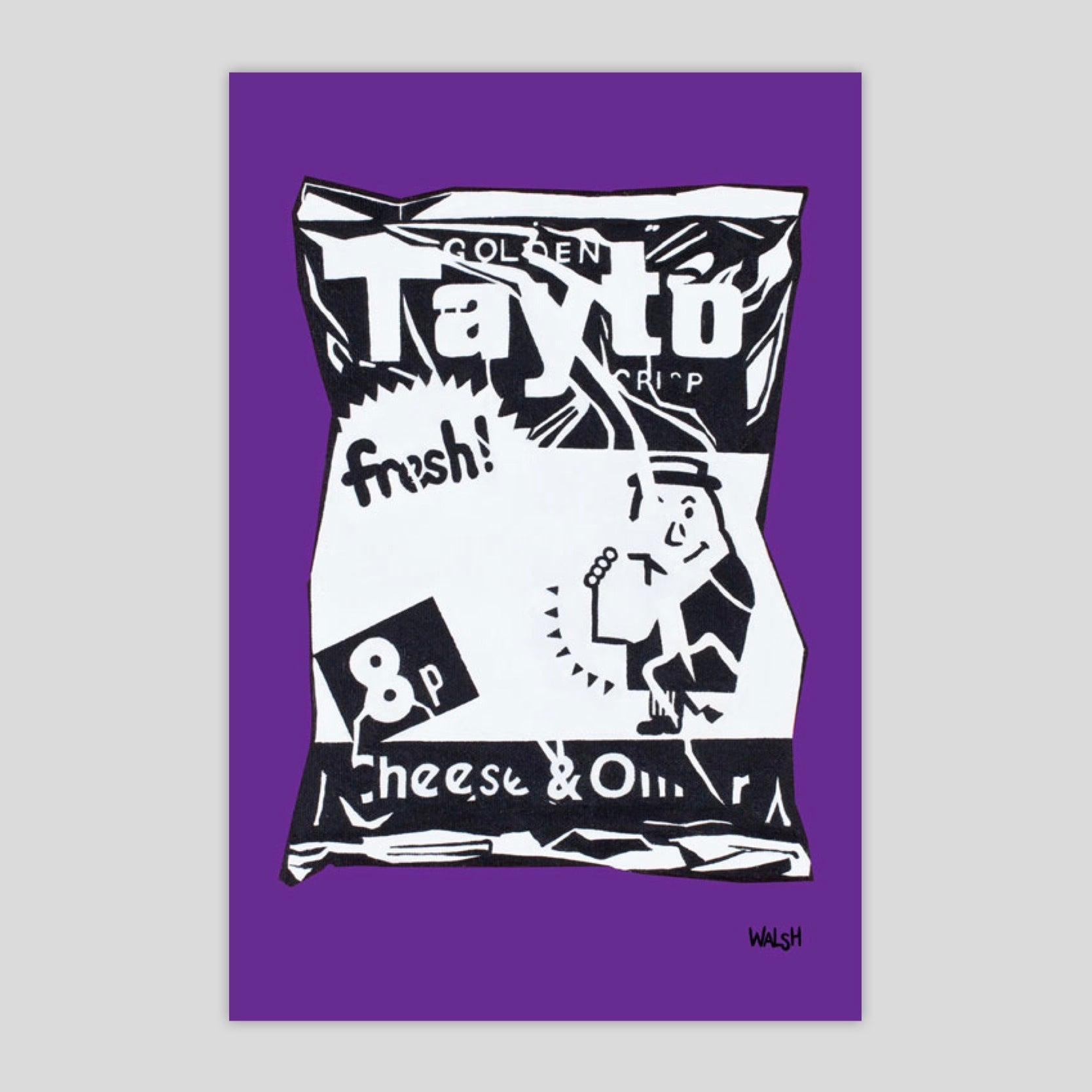 Street Art Tayto (Purple)
