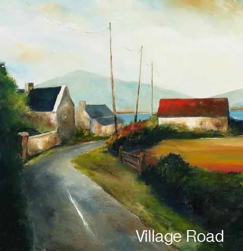 PMcC 'The Village Road' Print