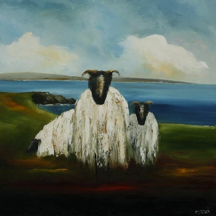 PMcC 'Wild Atlantic Sheep' Print