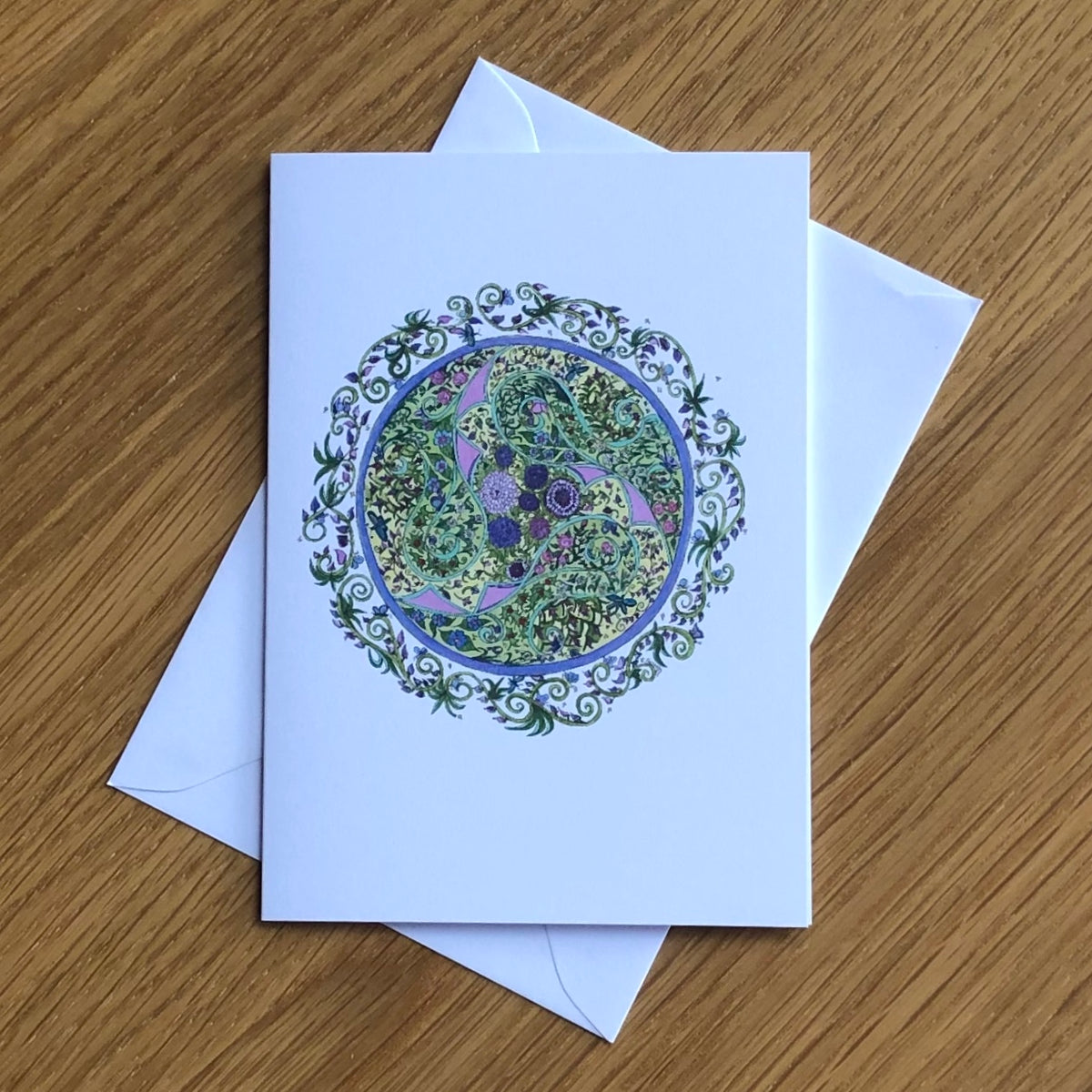 Celtic Summer Greetings Card