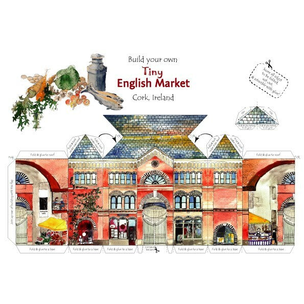 Tiny English Market Card