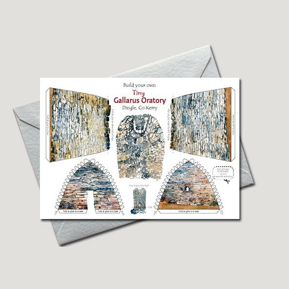 Tiny Gallarus Oratory Greetings Card