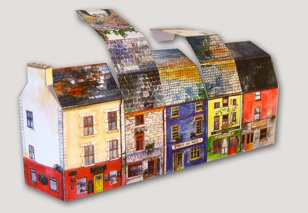 Tiny Galway Greetings Card