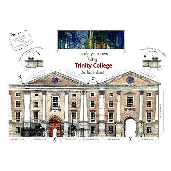 Tiny Trinity College Card