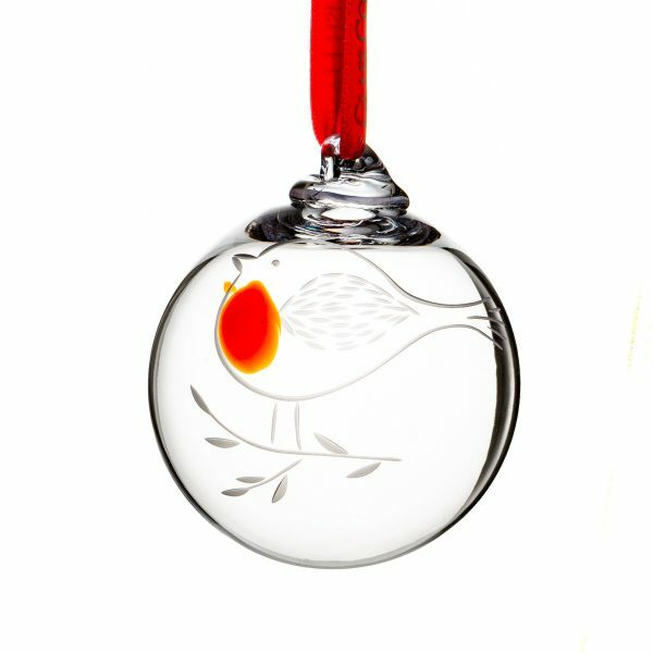 Robin Redbreast Bauble