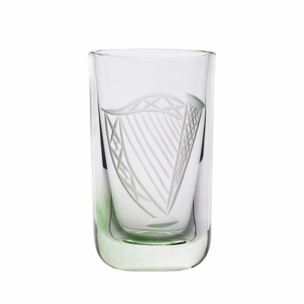 Irish Harp Shot Glass