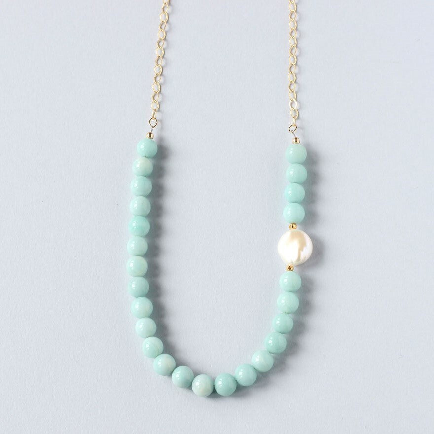 IL N18APGCH Amazonite FWP/Gold fill