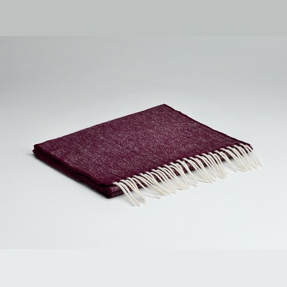"""Mulberry"" Lamsbwool Scarf with Gift Box"