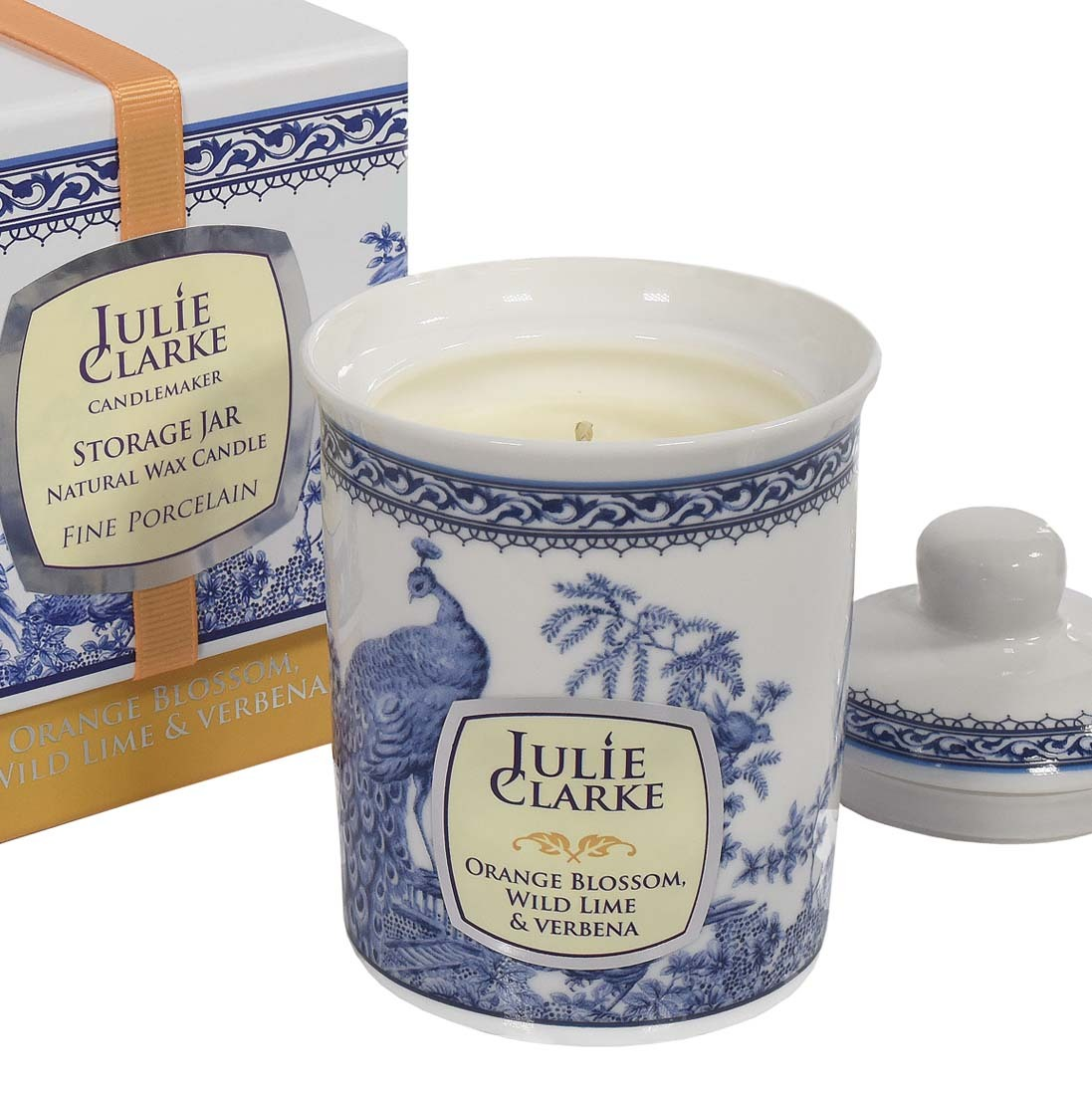 Orange Blossom, Wild Lime & Verbena Storage Jar Candle