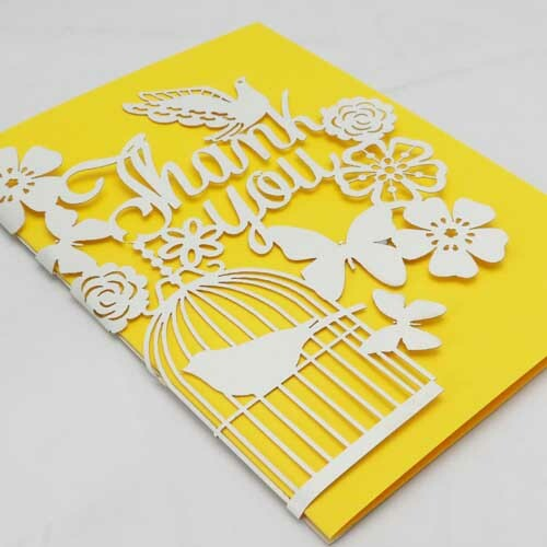 'Birdie' Thank You Card (BD015)