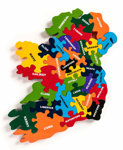 AJ 118 Map Of Ireland