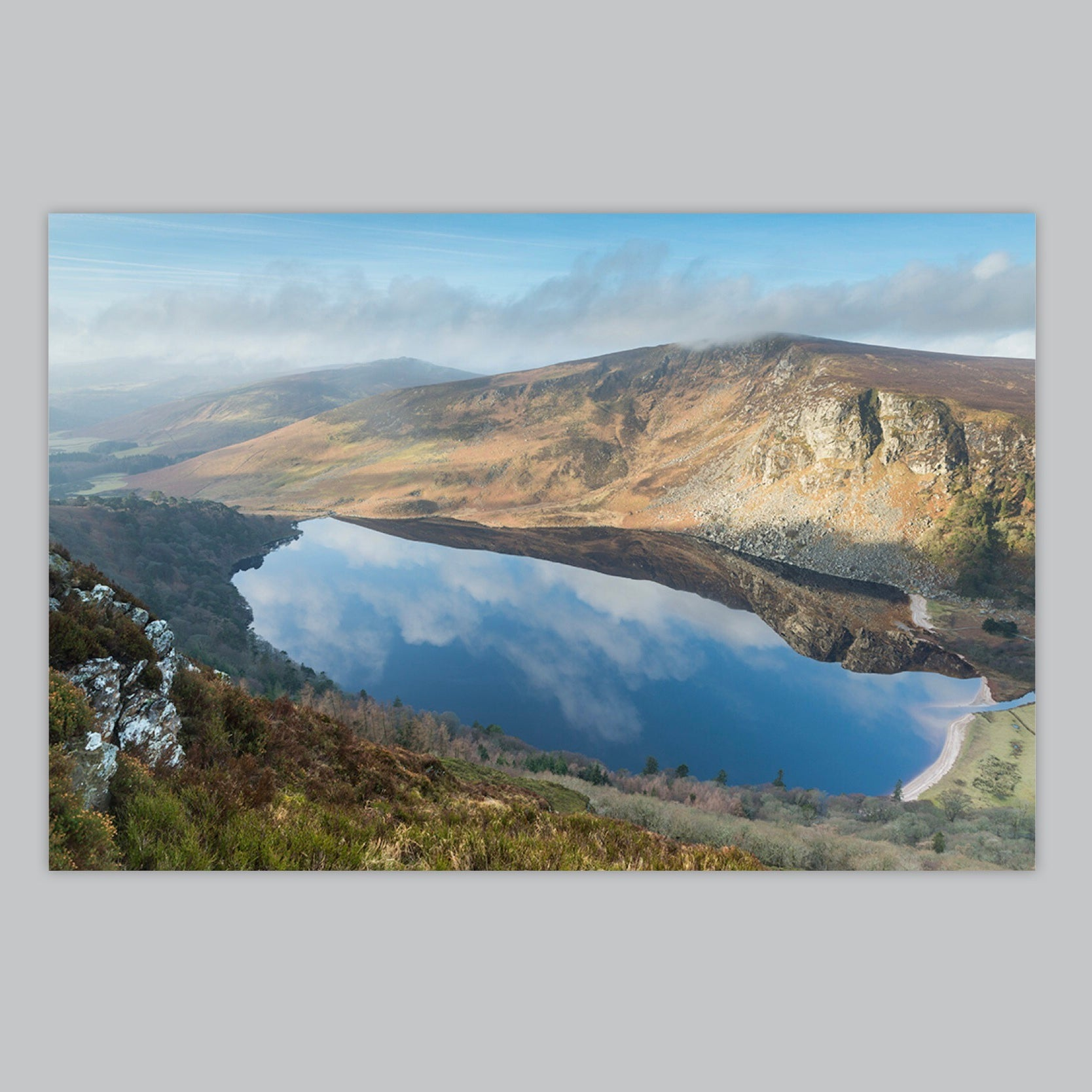 Lough Tay Morning