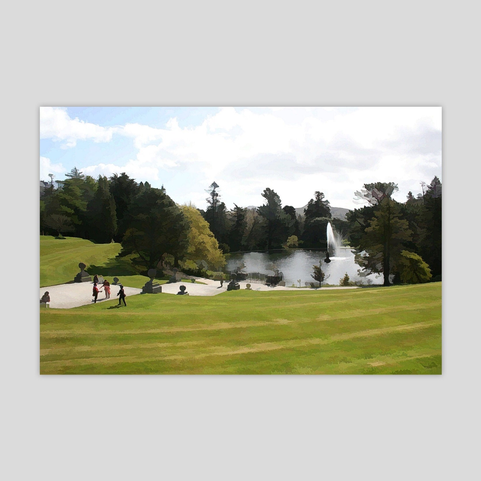 Powerscourt Gardens (3128R-M3)